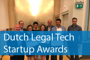De finalisten van de Legal Tech Startup Awards 2018