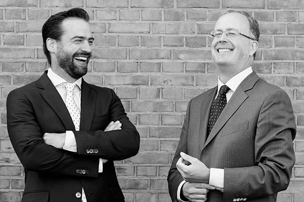Daan Korsse en Gerrit van der Veen