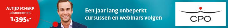 CPO – Aanbieding cursussen en webinars (Leaderboard)