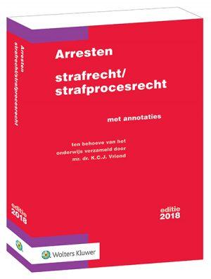 Arresten strafrecht/strafprocesrecht