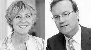Anne Geertsema en Anton-Pieter van Logtestijn