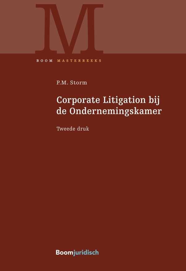 9789462902527 - Corporate Litigation bij de Ondernemingskamer
