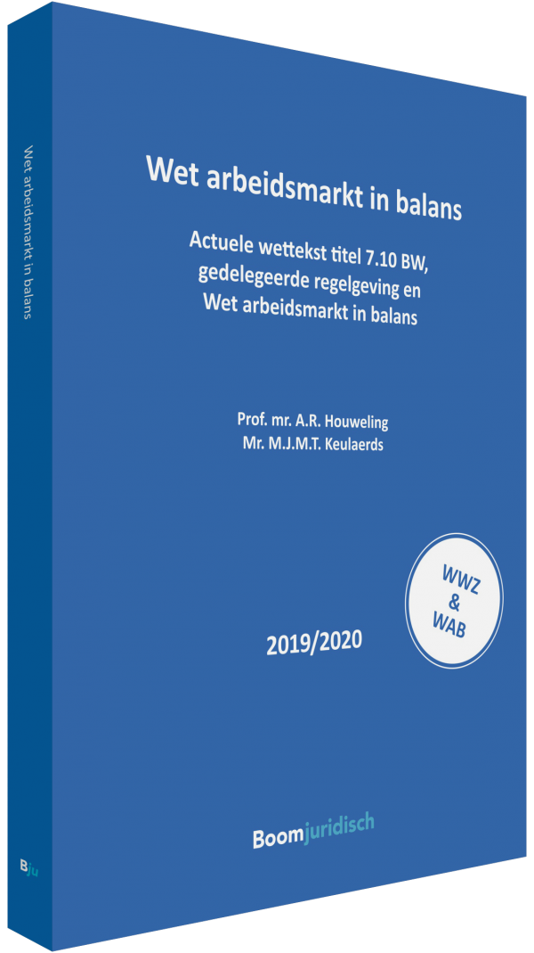 9789462906471 - Wet arbeidsmarkt in balans