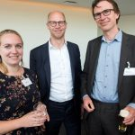 Brigitte Lops (Interface Europe), Jasper Langezaal en Evert de Jongste (beiden Siemens)