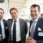 David Heems en Albert Knigge (beiden Houthoff) en Frits-Joost Beekhoven van den Boezem (De Nederlandsche Bank)