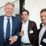 Jan Rotmans (Erasmus Universiteit/Urgenda), Gert Meijerman (Sabic) en Roland Notermans (NUX Compliance Consultancy)