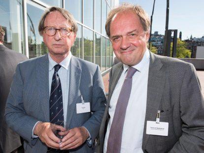 Han Kooy (Ecla) en Frank van Spaendonck (Oranje-Nassau Energie)