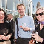 Sarah van Hecke (Houthoff), Joost Heurkens (IBM) en Ingeborg Kuyvenhoven (Petrobas)