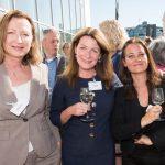 Nathalie Peters (Efes Breweries), Kirsten Berger (Houthoff) en Femke Wolffensperger (Air Liquide)