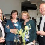 Marcel Mock (Mock Interim & Legal), Flore Groen (Bouwteam P&O), Marie-Christine van Waes (Shell International) en Michiel Wesseling (Houthoff)