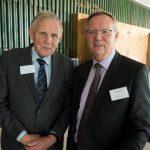 Paul de Jonge (Legal Bench Market) en Marc Taeymans (Vlaamse Juristenvereniging)