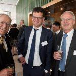 Arthur Schuering (oud-vicepresident hof Den Haag), Edwin Bleichrodt (advocaat-generaal Hoge Raad) en Bert-Jan Houtzagers (Raad van State)