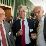 Jaap Polak (Raad van State/UL), Luc Verhey (Raad van State/UL) en Willem van Genugten (emeritus hoogleraar Tilburg University)