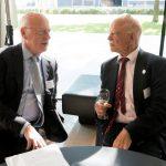 Willem Bekkers (oud-deken Nederlandse Orde van Advocaten) en Bas de Gaay Fortman (oud-politicus en emeritus hoogleraar)