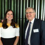 Vader en dochter Hirsch Ballin; de een (Marianne) hoogleraar aan de VU, de ander (Ernst) aan de UvA