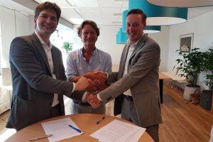Ruben Houweling (Erasmus Universiteit Rotterdam), Martin van Hemert (LexIQ) en Pascal Kruit (Boontje advocaten)