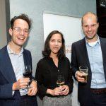 Simon van Oort (Raad van State), Lisanne van Langen en Thomas van Arnhem (beiden ministerie van J&V)