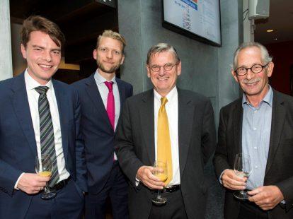 Wubbo Wierenga (Berenschot), Lester von Meyenfeldt (ministerie van BZK), Peter Stolk en Peter Reimer (beiden ex-ministerie van BZK)