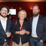 Pim Beirnaert (OCW), Goedele Roos (ex-OCW) en Jeroen Gribling (Inspectie van het Onderwijs)