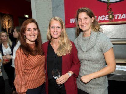 Fleur Pennarts (IenW), Claudia Parker Verboom (BZK) en Eva Ruesen (IND)