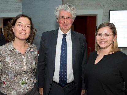 Lydia Dijkhuizen (Nederlandse Transplantatie Stichting), Bert Jan Clement en Susan Mathijsen (beiden ministerie van Volksgezondheid, Welzijn en Sport)