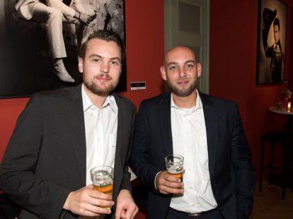 Roger Roethof en Karim Moumen (beiden Academie)