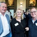 Guido Goorts (Goorts + Coppens Advocaten), Miriam van der Sanden en Bennie van Zandvoort (beiden Van Zandvoort Legal)