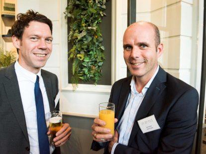 Ruben Wiegerink (Van der Feltz advocaten) en Dirk Verheul (Visser & Visser)