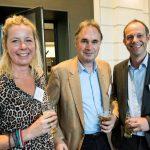 Suzanne Knottnerus (Griph), Piet de Quay (Meijburg Legal) en Rein Eilers (Hupkes advocaten)
