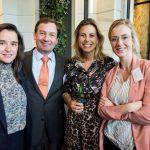 Edith Molemans (Boontje Advocaten), Julius Scholten (Law4ce), Eva Knipschild (Kennedy Van der Laan) en Tessa Timmermans (Brinkhof)
