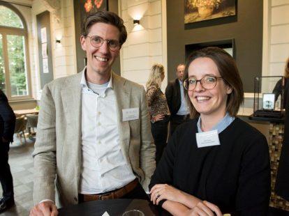 Ivo van der Zijl (Van Grafhorst Notarissen) en Jolijn Kruyne (Confius)