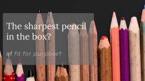 The sharpest pencil