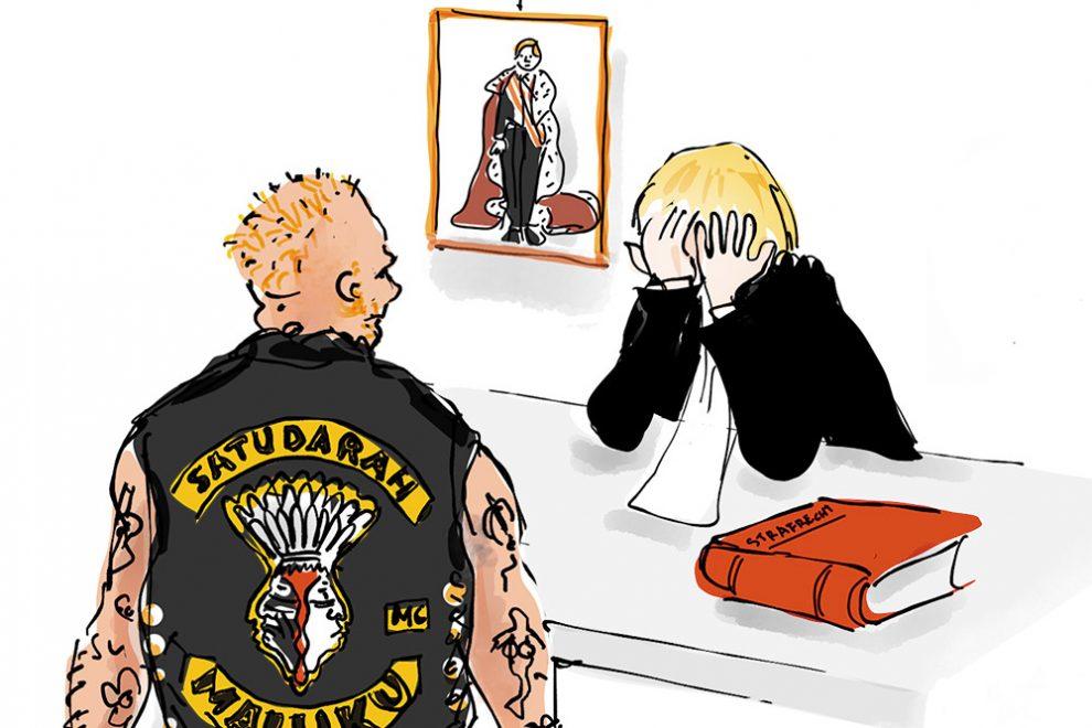 Te gek voor de rechter