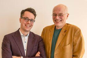 Simon Dik en Rogier Scheltes (foto: Geert Snoeijer)