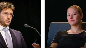 Nico Tollenaar en Margreet van de Vuurst