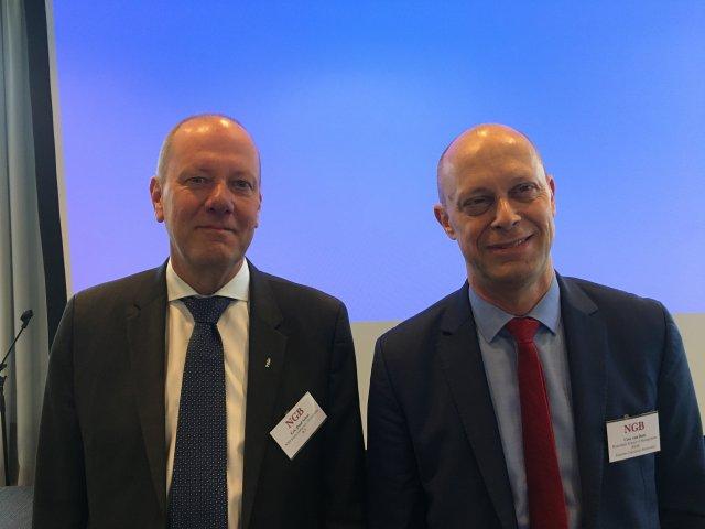 Eric-Paul Schat en Cees van Dam