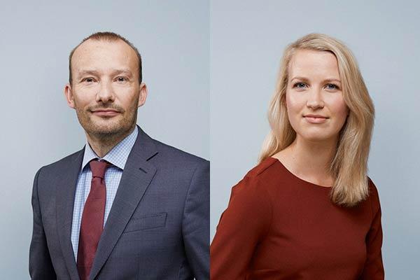 Pieter Mantel en Evelien Brussee