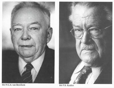 Van harte: Van Benthem & Keulen tachtig jaar