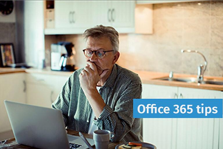 Office365 tips: 'Niet opgeslagen documenten herstellen'