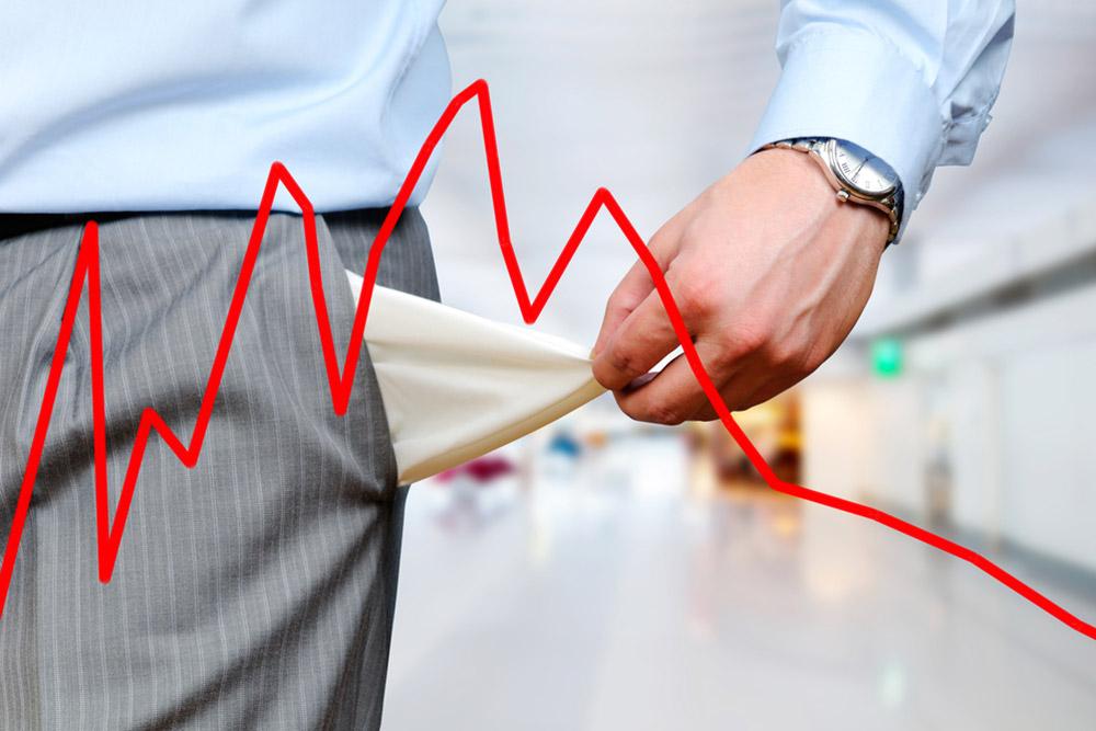Aantal faillissementen fors gedaald