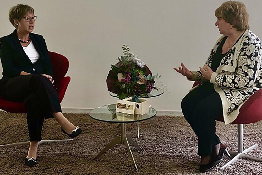 SER-voorzitter Mariëtte Hamer ontvangt Eberhard van der Laan Mediation Award 2020