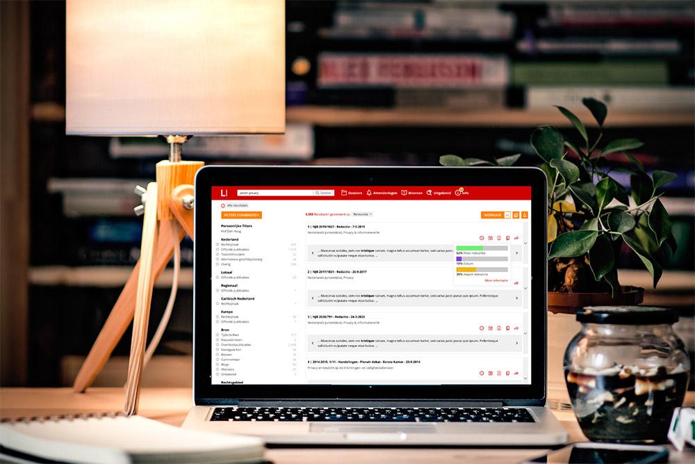 LI Catalog: de nieuwe catalogussoftware van Legal Intelligence