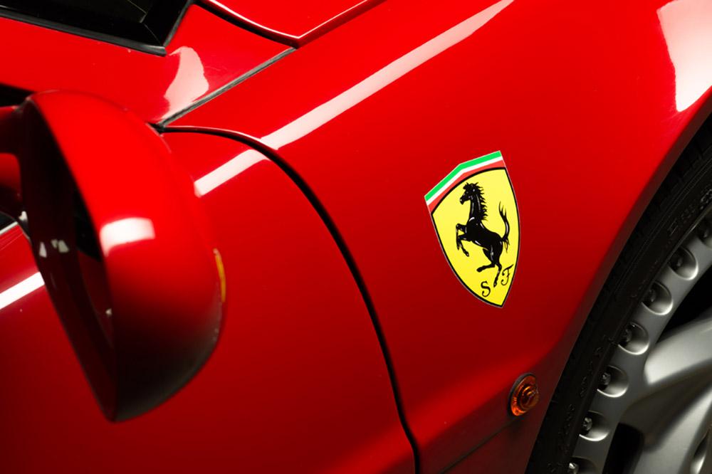 Ferrari moet normaal gebruik merk Testarossa bewijzen