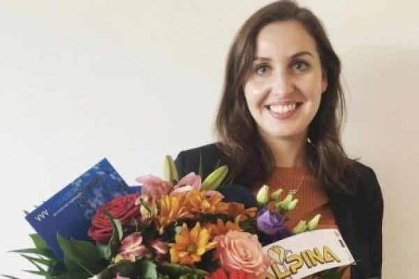 Maureen Schrijen wint twee scriptieprijzen (foto Universiteit Utrecht)
