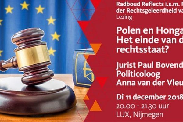 Lezing RU Het einde van de rechtsstaat
