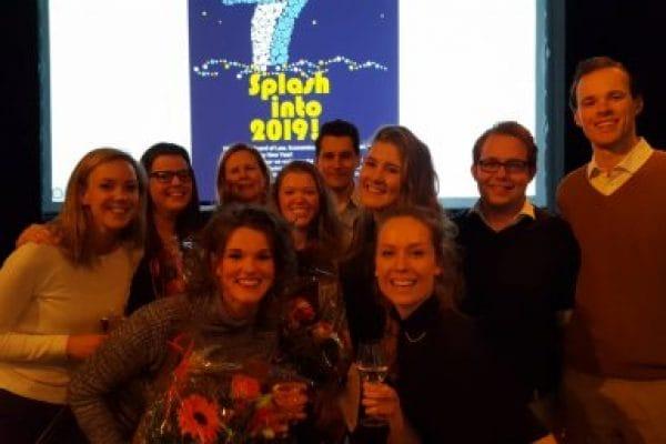 Studenten Juridisch Spreekuur Gedetineerden met docenten Pauline Jacobs, Antoinette Bakker en Ruben Aksay (foto Universiteit Utrecht)