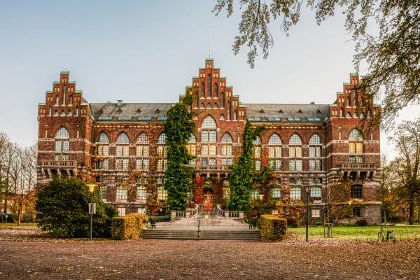 Lund University in de herfst