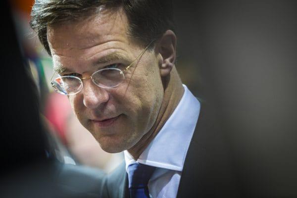 Portrait of Mark Rutte