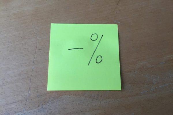 Notariscliënten morren (nog) niet nu ze negatieve rente moeten betalen