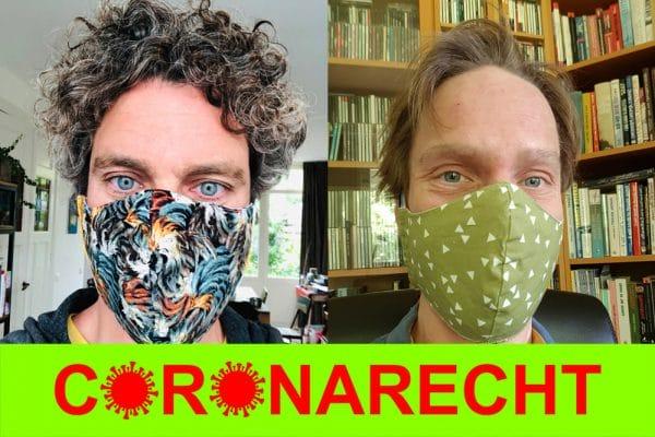 Benjamin van Rooij en Chris Reinders Folmer